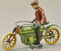 Mueller & Kadeder Tin-Motorcycles Two cylinder cycle,...