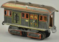 Maerklin Railway-Passenger Cars Early postal car with...