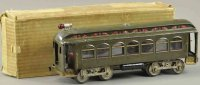 Lionel Tin-Trams Trail car with eight wheels #10, in...