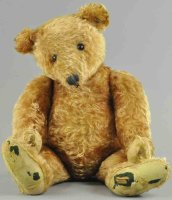 Steiff Baers Large early apricot teddy bear, stone nose,...