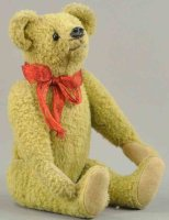 Strunz Baers Teddy bear, gutta percha nose, cotton...