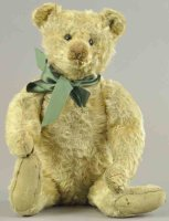 Steiff Baers White teddy bear, glass eyes, stitched nose,...
