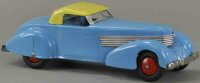 Wyandotte Tin-Oldtimer Two-tone coupe, tin car blue and...