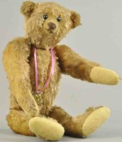 Strunz Baers Early teddy bear, shoebutton eyes, stitched...