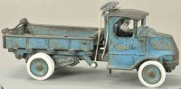 Arcade Cast-Iron trucks Mack dump truck, cast iron, large...
