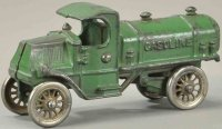 Williams AC Cast-Iron trucks Gasoline truck, cast iron,...