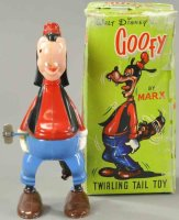 Marx Celluloid-Figures Whirling tail Goofy mechanical...