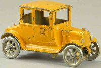 Kilgore Cast-Iron Oldtimer Sedan with trunk, cast iron,...