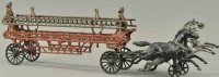 Ives Cast-Iron-Carriages Ladder wagon, rare example, cast...