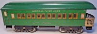 American Flyer Railway-Passenger Cars Oberservation car...