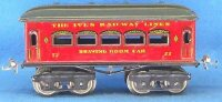 Ives Railway-Passenger Cars Passenger car with eight...
