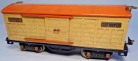 Lionel Railway-Freight Wagons Box car with eight wheels,m...