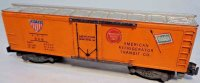 American Flyer Railway-Freight Wagons Plastic body...