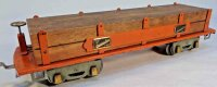 American Flyer Railway-Freight Wagons Lumber car No. 4023...