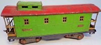 Lionel Railway-Freight Wagons Caboose No. 517 with eight...