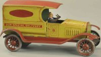 Turner Toys Tin-Trucks Special delivery truck,...