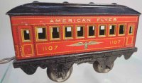 American Flyer Railway-Passenger Cars Pullman car No....