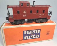 Lionel Railway-Freight Wagons SP type caboose No. 6457...