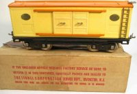 Lionel Railway-Freight Wagons Box car No. 214with eight...