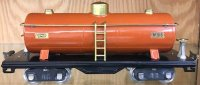 Lionel Railway-Freight Wagons Tank car No. 515 with eight...