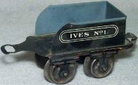Ives Railway-Tender Tender No. 1 with four wheels, made...