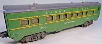 Lionel Railway-Passenger Cars Observation car No. 36 with...