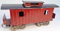 Lionel Railway-Freight Wagons Caboose No. 117, made of...