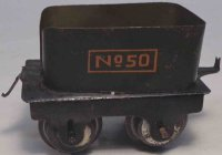 American Flyer Railway-Tender Tender Hummer No. 50, tin...