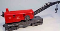 Lionel Railway-Freight Wagons Wrecker crane car No. 6560...