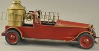 Turner Toys Tin-Fire-Truck Packard fire ladder truck,...
