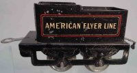 American Flyer Railway-Tender Tender No. 120 with four...
