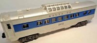 Lionel Railway-Passenger Cars Santa Fe vista-dome car No....