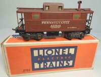 Lionel Railway-Freight Wagons Metal PRR caboose No. 2757X...