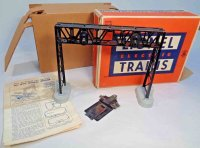 Lionel Railway-Bridges Trains signal bridge No. 450 spans...