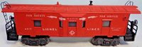 Lionel Railway-Freight Wagons Bay window caboose No. 6517...