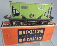 Lionel Railway-Freight Wagons Hopper car No. 653 with...