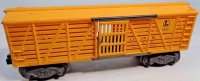 Lionel Railway-Freight Wagons Cattel car No. 6656 with...
