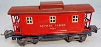 Lionel Railway-Freight Wagons Caboose No. 2657X with...