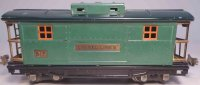 Lionel Railway-Freight Wagons Caboose No. 817 with eight...