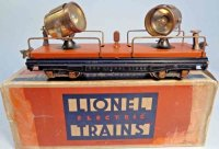 Lionel Railway-Freight Wagons Searchlight car with terra...