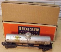 Lionel Railway-Freight Wagons Sunoco single dome tank car...