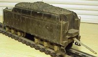 Lionel Railway-Tender Metal diecast tender No. 2226W with...