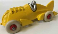 Hubley Cast-Iron Race-Cars Cast iron yellow golden arrow...