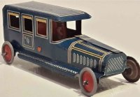 Fischer Georg Tin-Oldtimer Limousine made of tin, with...