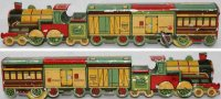 Matarazzo Tin-Penny Toy Freight passenger train No....
