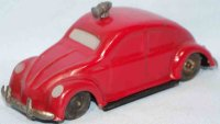 GAMA Tin-Cars Fire brigade pretzel beetle with fricition...