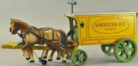 Jacrim Manufacturing Co. Tin-Carriages American Ice...