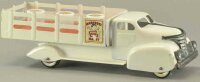 Marx Tin-Trucks Marcrest milk dairy truck, pressed steel...