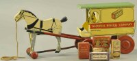 Rich Toys Inc. Wood-Carriages Uneeda bakers wooden...