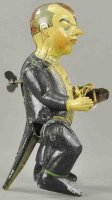 Unknown Tin-Figures Man with flowers, made in Germany,...